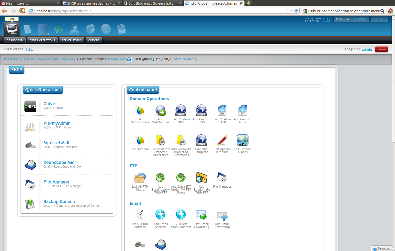 Suggest some cPanel alternatives for VPS